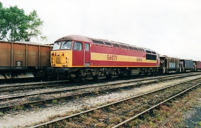 56071 at Tyne Yard  02/09/00.