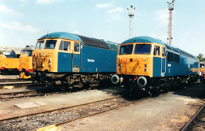 56004 & 56006 at Old Oak Common Open Day 05/08/00.