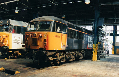56102 at Old Oak Common Open Day  05/08/00.