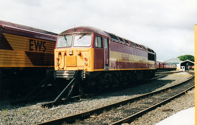 56068 at Tyne Yard  02/09/00.