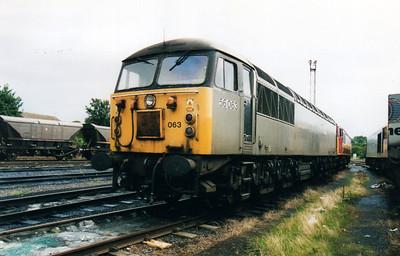 56063 at Knottingley TMD  02/09/00.