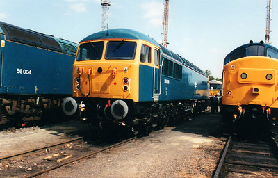 56006 at Old Oak Common Open Day 05/08/00.