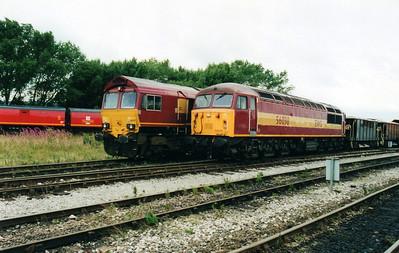 56038 at Tyne Yard  02/09/00.