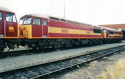 56113 at Thornaby TMD  02/09/00.