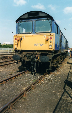 58021 at Old Oak Common Open Day  05/08/00.