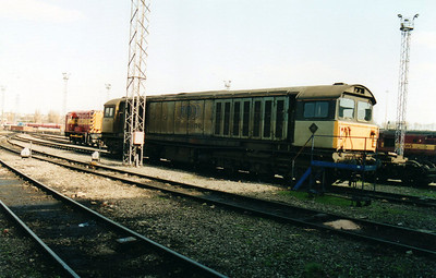 58026 at Toton TMD  18/03/00.