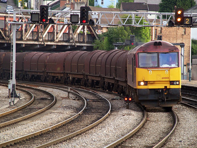 60003 'Freight Transport Association' 1948-6E20 Troste-Doncaster passes Newport 06/06/06..