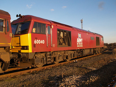 60040 'The Territorial Army Centenary'  Immingham TMD 31/01/10