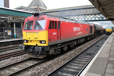 60007 0955/6B13 Robertston-Westerleigh passes Newport 22/03/13..