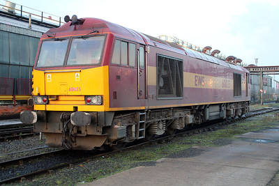 60035 sits on Immingham TMD on Saturday 24/11/12.