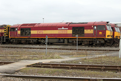 60003 'Freight Transport Association' Toton 26/03/11.