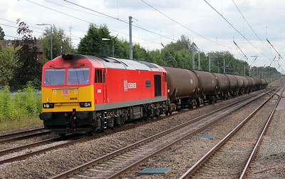 60040 'The Territorial Army Centenary' 1553/6E38 Colnbrook-Lindsey passing Harpenden 23/08/12.
