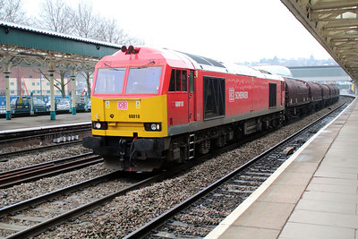 60010 1041/6H35 Margam-Birdport passes Newport 22/03/13..