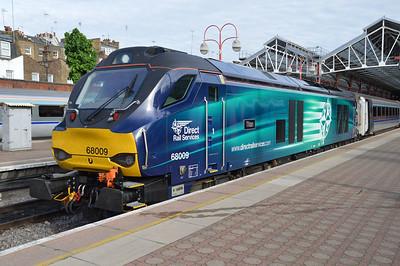68009 1815/1K54 Marylebone-Kidderminster awaits departure  20/05/16.