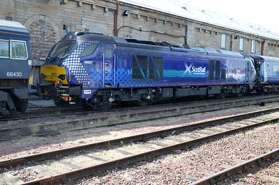 68007 on Motherwell TMD  16/07/15.