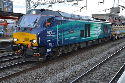 68003 'Astute' 2113/6z97 Toton-Crewe  28/05/15.