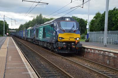 68004_68020 1906/4m48 Mossend-Daventry passes Holytown  11/07/16