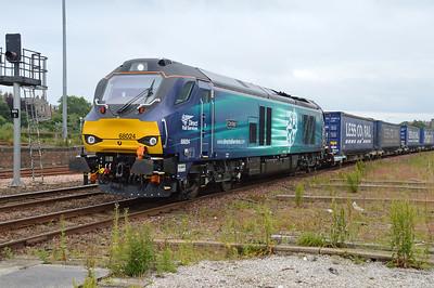 68024 1521/4A13 Grangemouth-Aberdeen approaches Montrose  09/07/16.