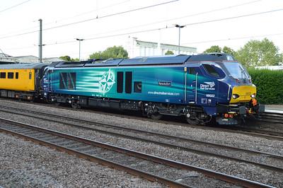68022 seen on 1Q19 Heaton-Derby at Welwyn Garden City  25/07/16