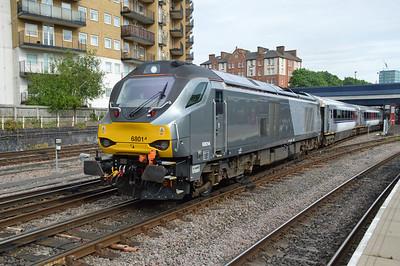 68014 1720/1u50 Marylebone-Banbury departs Marylebone  20/05/16.