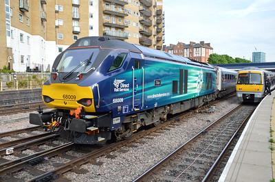 68009 1815/1K54 Marylebone-Kidderminster awaits departs  20/05/16.