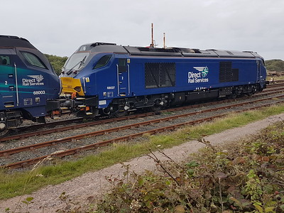 68027 at Sellafield   28/08/17