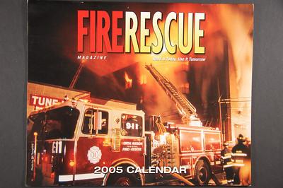 Fire Rescue Calendar 2005 - 1