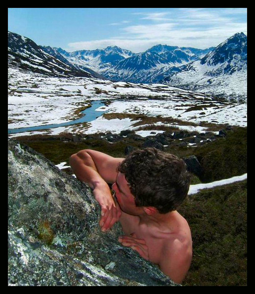 Fred Watson learns how to boulder at the start of the season in Archangel Valley.