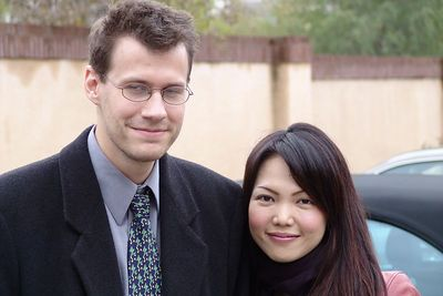 December: Chris and Megumi