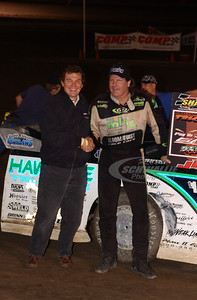 Scott Bloomquist and Bobby Harstlief