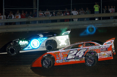 24 Rick Eckert and 0 Scott Bloomquist