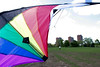 Launching stunt kite