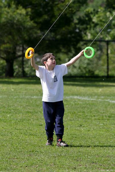 Benjamin flying stunt kite