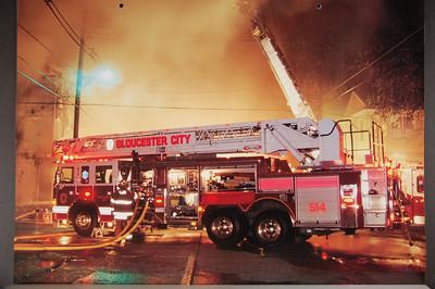 Fire Trucks in Action Calendar - 2007