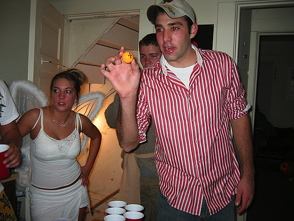 16 - Anthony's brother playing beer pong.JPG