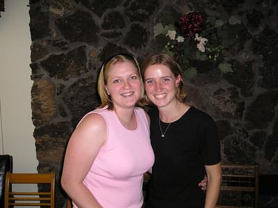 July 2004 Sara McShoe Shower and Wedding