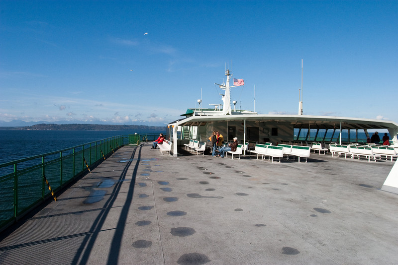 On the ferry from Edmonds to Kingston