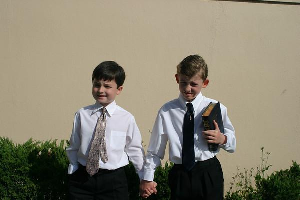 Matthew's First Communion
