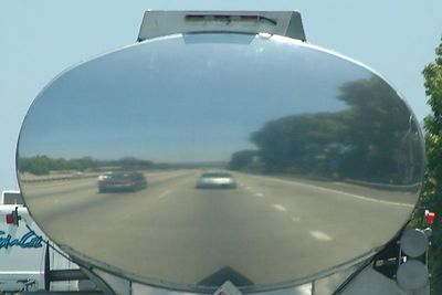 Self-portrait at 65 mph