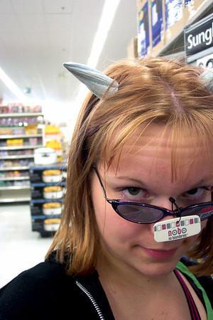 Molly at WalMart