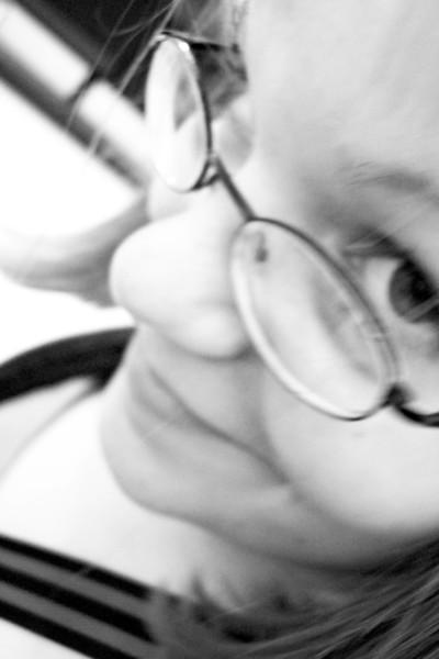 The artsy blurry greyscale one