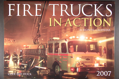 Fire Trucks in Action Calendar - 2007