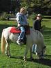 Lily on pony