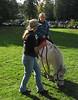 Isabel on pony