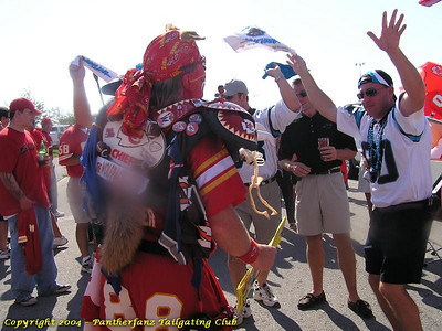 Panthers @ Chiefs September 19 2004