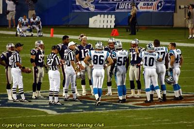 Panthers vs. Patriots August 28 2004