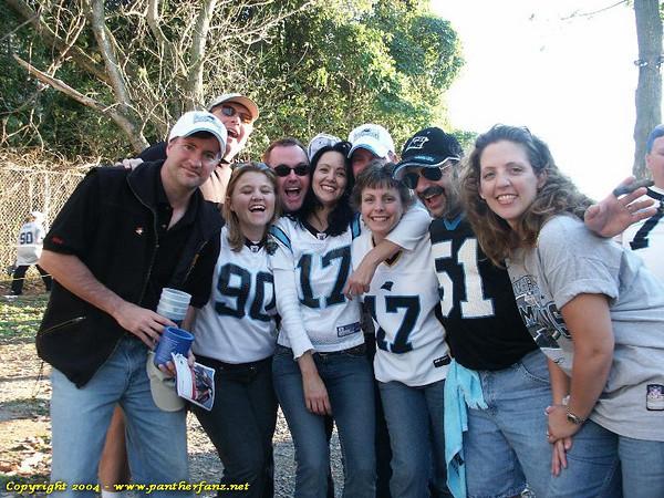 Panthers vs. Raiders November 7 2004