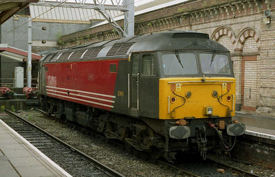 47750 - EWS' other surviving '47' - could be found in Platform 10 at Crewe the same afternoon (01/06/2004)