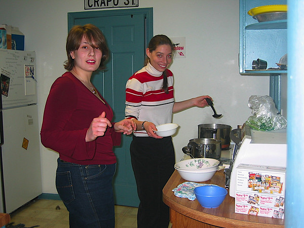 10 - The females helping with our cooking.JPG