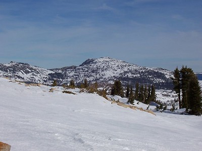 South side of Mount Tallac.